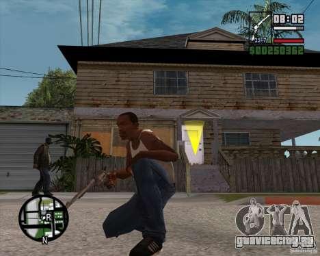 Револьвер для GTA San Andreas третий скриншот