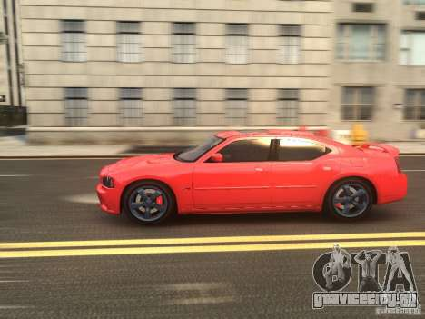 Dodge Charger SRT8 2006 для GTA 4 вид сбоку