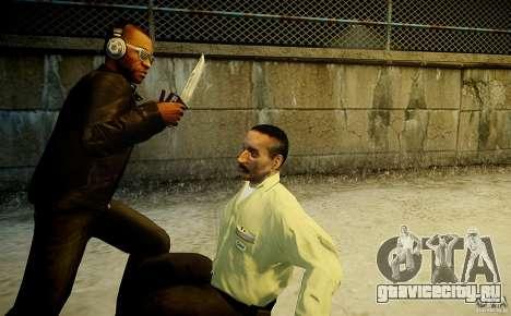 B.A.K. Knife для GTA 4 четвёртый скриншот