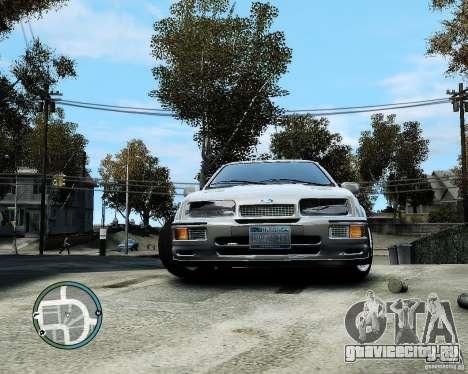 Ford Sierra RS500 Cosworth v1.0 для GTA 4 вид сзади