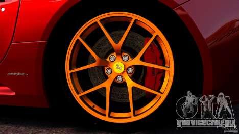Ferrari California Novitec для GTA 4 вид снизу