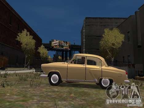 ГАЗ 21Р для GTA 4 вид слева