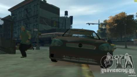Opel Corsa B Tuning для GTA 4 вид изнутри