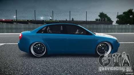 Audi S4 Custom для GTA 4 вид изнутри