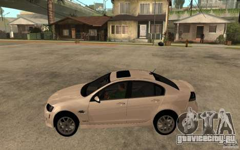 Pontiac G8 GXP 2009 для GTA San Andreas вид слева