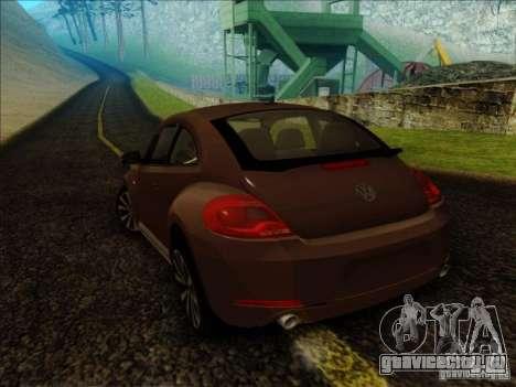 Volkswagen Beetle Turbo 2012 для GTA San Andreas вид слева