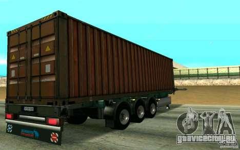 Прицеп Schmitz для GTA San Andreas вид справа