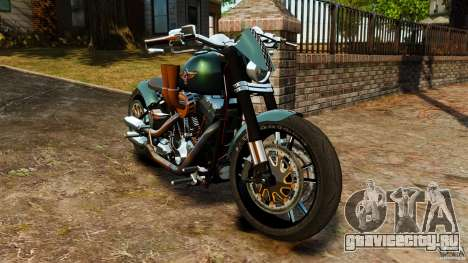 Harley Davidson Fat Boy Lo Racing Bobber для GTA 4