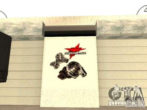 GRC гараж в SF для GTA San Andreas седьмой скриншот