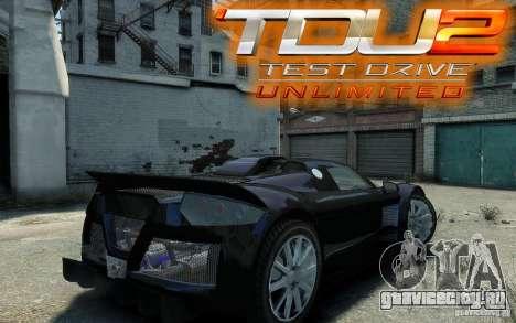 Gumpert Apollo Sport для GTA 4 вид справа