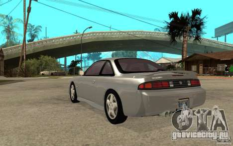 Nissan 200SX - Stock для GTA San Andreas вид сзади слева