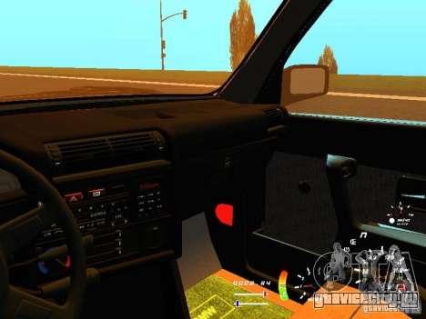 BMW E30 87-91 для GTA San Andreas вид сверху