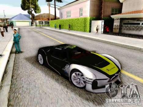 Citroen GT Gymkhana для GTA San Andreas вид справа