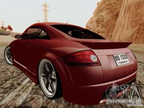 Audi TT для GTA San Andreas вид слева