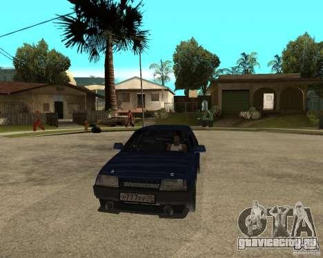 Ваз 21099 Tuning By Danil для GTA San Andreas вид сзади