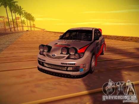 Subaru Impreza WRX STi N14 Rallycross для GTA San Andreas вид справа