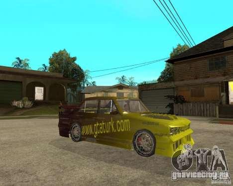 Anadol GtaTurk Drift Car для GTA San Andreas вид справа