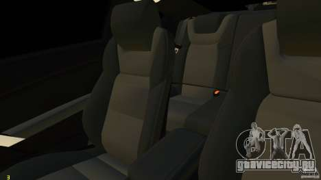 Hyundai Genesis Coupe 2010 для GTA 4 вид сбоку