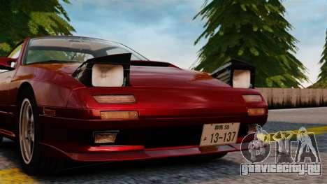 Mazda Savanna RX-7 для GTA 4 вид сзади