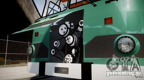 ЛиАЗ 677 v2.0 для GTA 4 вид сбоку