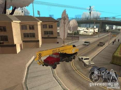 МКАТ-40 на базе КрАЗ-250 для GTA San Andreas вид слева