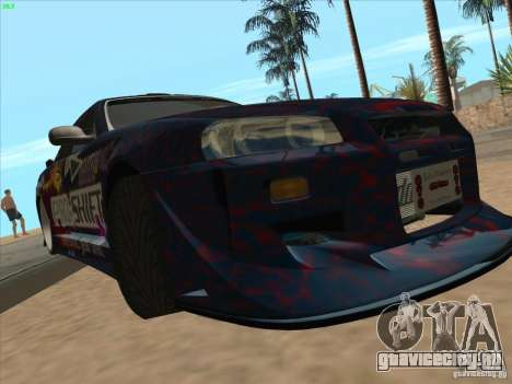 Nissan Skyline R34 VeilSide для GTA San Andreas вид сбоку