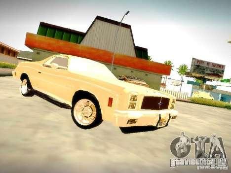 Chevrolet El Camino 1976 для GTA San Andreas