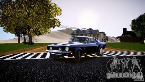 Ford Shelby GT500 KR 1968 для GTA 4