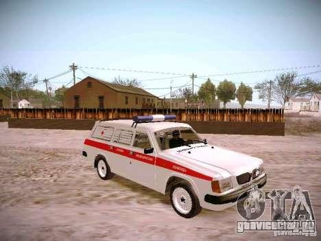 ГАЗ 310231 Скорая для GTA San Andreas вид справа