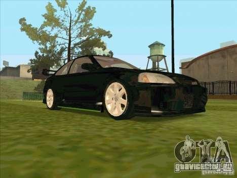 Honda Civic Coupe 1995 from FnF 1 для GTA San Andreas вид сбоку