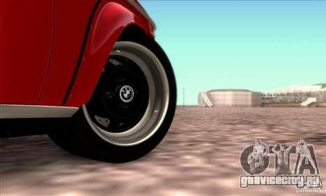 BMW 2002 Turbo для GTA San Andreas вид снизу