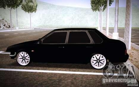 ВАЗ 21099 Turbo для GTA San Andreas вид слева
