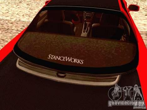 Acura NSX Stance Works для GTA San Andreas