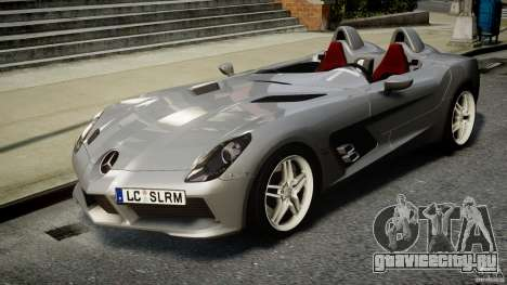 Mercedes-Benz SLR McLaren Stirling Moss [EPM] для GTA 4 вид сзади