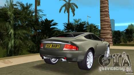 Aston Martin V12 Vanquish 6.0 i V12 48V для GTA Vice City