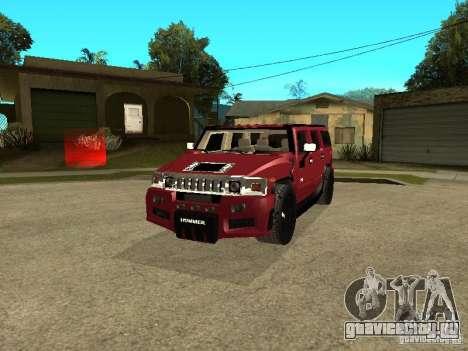 Hummer H2 Tuning для GTA San Andreas