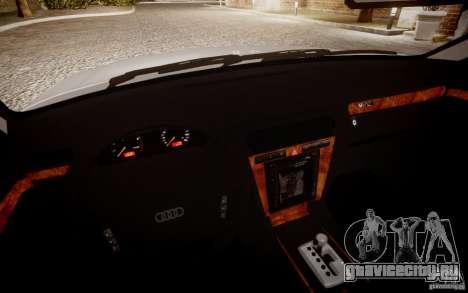 Audi A8 2000 для GTA 4 вид справа