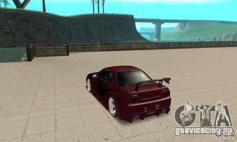 Nissan Skyline R32 Drift Edition для GTA San Andreas вид сзади слева