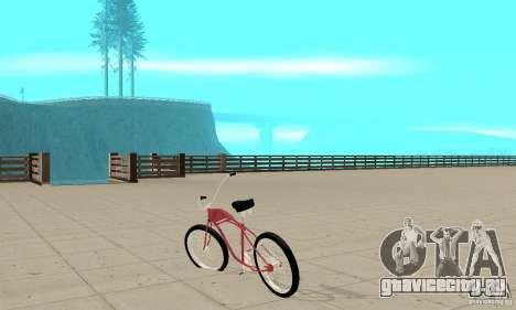 Classic Bike для GTA San Andreas вид сзади слева