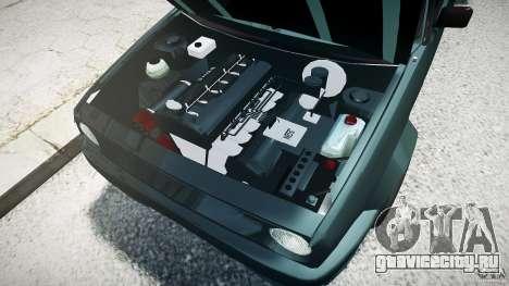 Volkswagen Golf 2 Low is a Life Style для GTA 4 вид слева