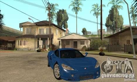 Ascari KZ1 для GTA San Andreas вид сзади