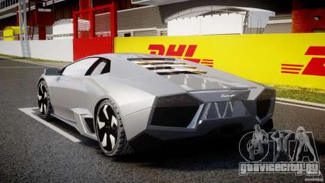 Lamborghini Reventon v2 для GTA 4 вид сбоку