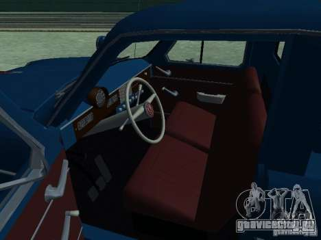 Москвич 430 Пикап Аэрофлот для GTA San Andreas вид сзади