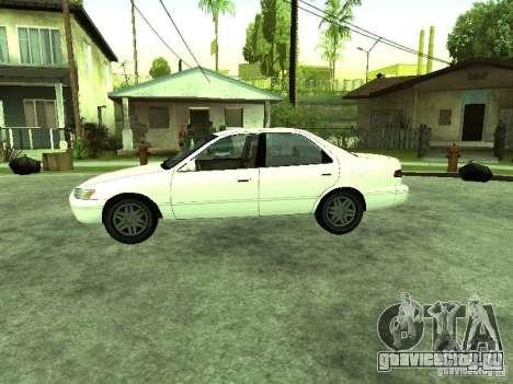 Toyota Camry 2.2 LE для GTA San Andreas вид слева
