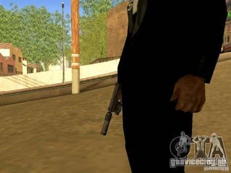 USP45 Tactical для GTA San Andreas третий скриншот