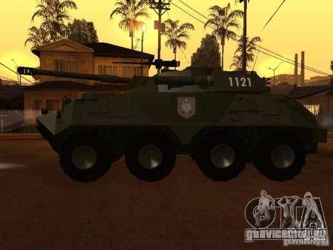 БТР-60FSV для GTA San Andreas вид слева