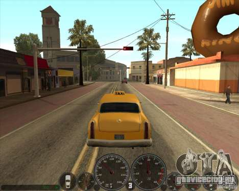 memphis Спидометр v2.0 для GTA San Andreas третий скриншот
