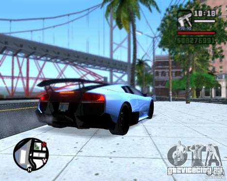 Enb series by LeRxaR для GTA San Andreas четвёртый скриншот