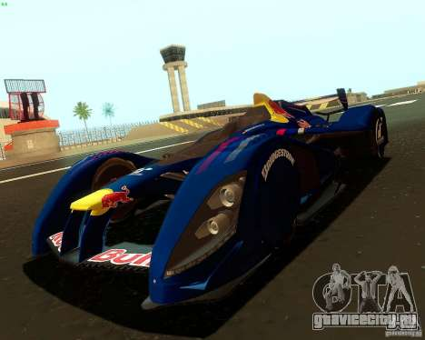 X2010 Red Bull для GTA San Andreas