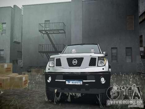 Nissan Pathfinder 2010 для GTA 4 вид сбоку